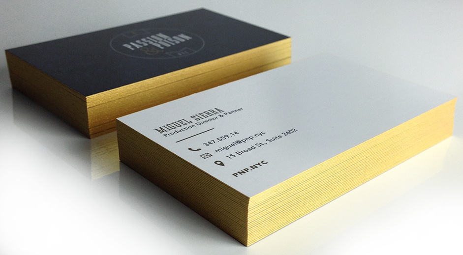 colored edges business cards | Graphic and Web Design Studio | Who ...