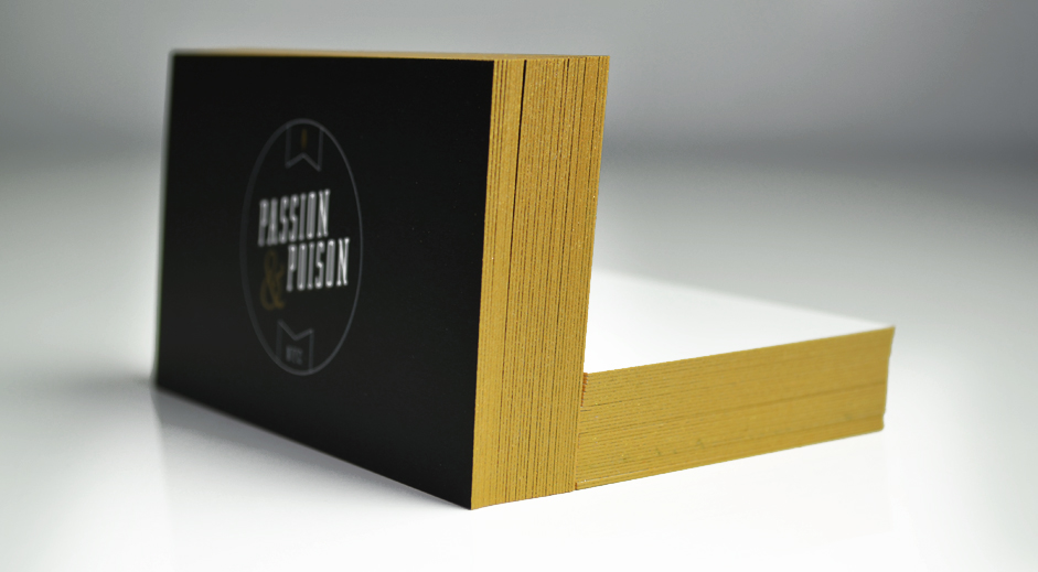 colored edge business cards | Graphic and Web Design Studio | Who ...