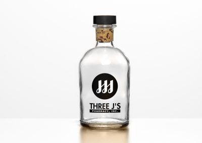 3  js logo bottle
